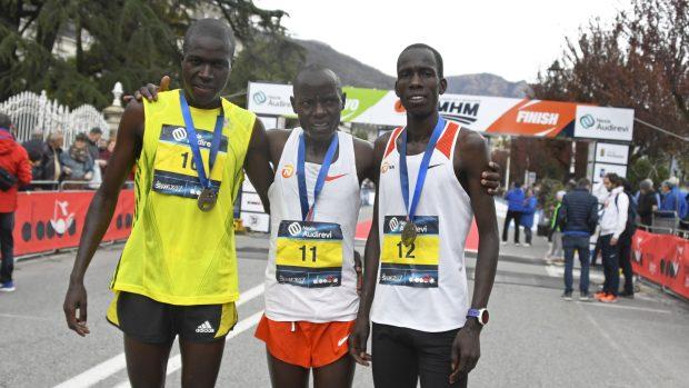 primi tre gara maschile
