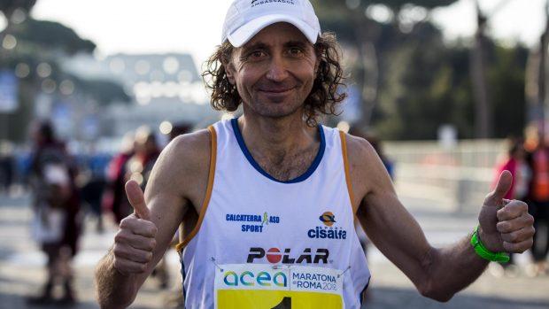 Giorgio Calcaterra. foto ANSA/ANGELO CARCONI