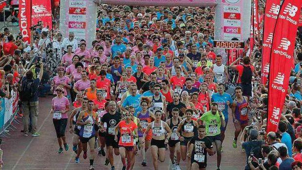 Foto LaPresse - Spada 09 Giugno 2018 - Arena Civica , Milano (Italia) Lierac Beauty Run 2018 Sport Nella foto: partenza 10 km competitiva Photo LaPresse - Spada June 09 , 2018 Milan (Italy ) Sport Lierac Beauty Run 2018 In the pic: start 10 km