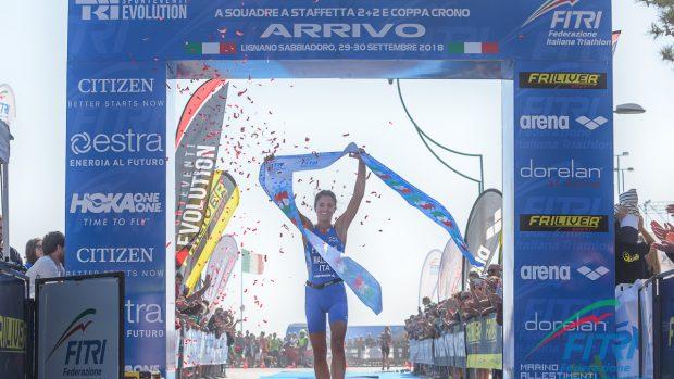 Beatrice Mallozzi vince i Tricolori Sprint (foto Ballabio/FITRI)