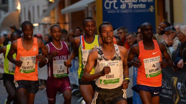 Trento Running Festival - October the 6th, 2018 - Trento, Italy. Giro al Sas - Edris © DANIELEMOSNA.IT