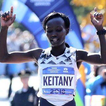La keniana Mary Keitany, 36 anni, vince per la quarta volta a New York. Afp