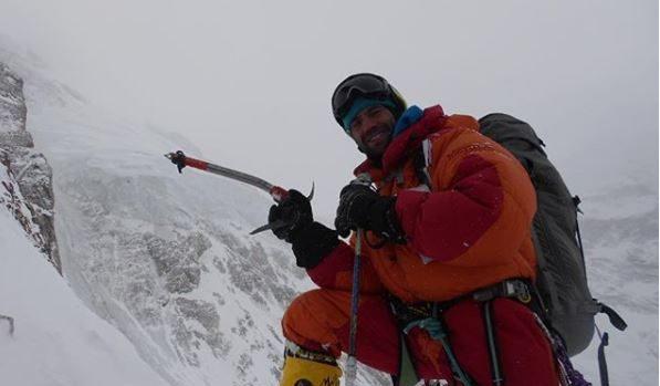 Daniele Nardi sul Nanga Parbat (foto Elisabeth Revol)