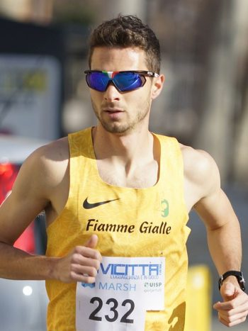 Samuele Dini, il vincitore maschile