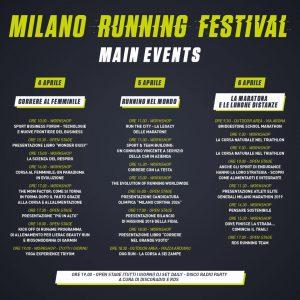 Calendario Running.Milano Running Festival Calendario Running