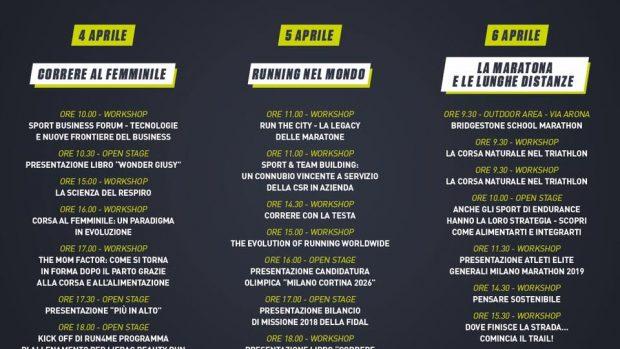Milano Running Festival calendario
