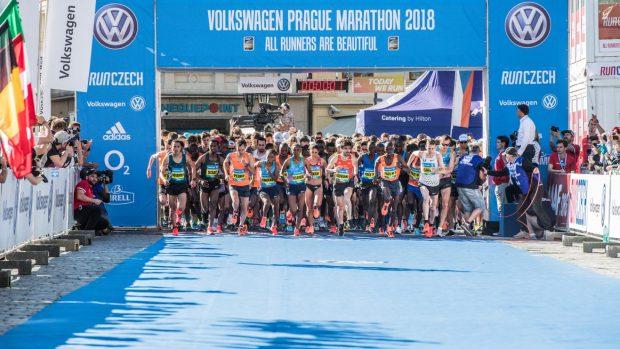 Partenza prague marathon