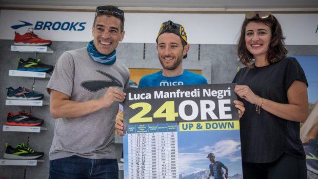 La premiazione di Luca Manfredi - foto Maurizio Torri