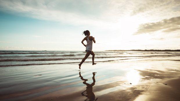 running spiaggia
