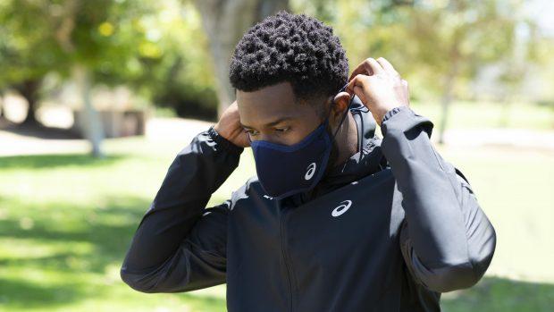 Asics runners face mask cover