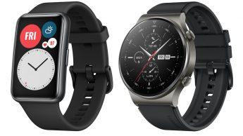 Huawei Watch Fit e Watch GT2 Pro