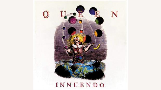playlist running queen rock band album Innuendo