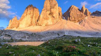 Tre Cime di Lavaredo, Alto Adige