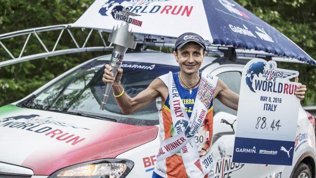 Giorgio Calcaterra, vincitore mondiale dell'edizione 2016