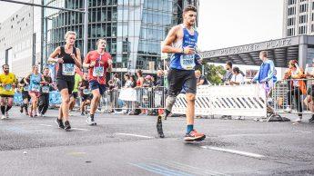 Pierluigi Maggio alla Maratona di Berlino